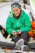 Basecamp Downtime Everest 2012 FA Igniter Jacket FA Katabatic tent Himalaya Khumbu valley Melissa Arnot Rest day