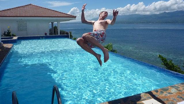flip pool water michael roberts redemption