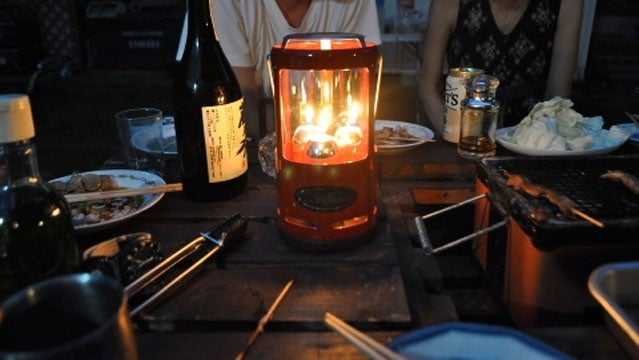 candle candlelier uco romance camping