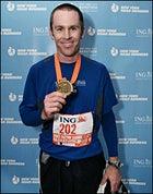 Justin Nyberg NYC Marathon