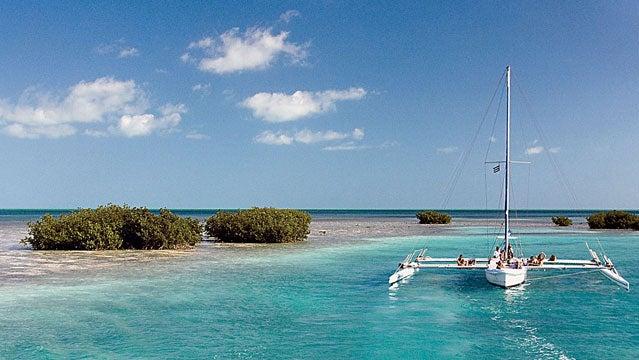 Cuba Caribbean Caribs Travel Destination Cayo Largo Sailing near Capo Iguana outside travel awards