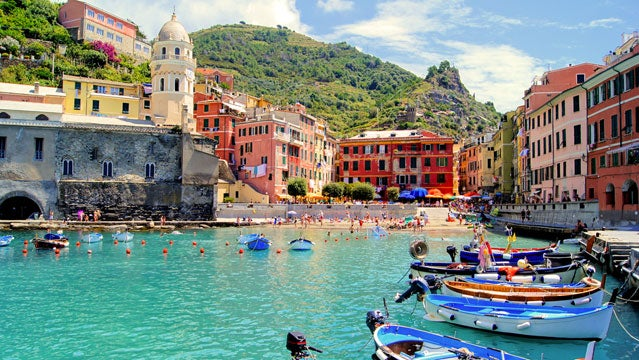 cinque terre italy ocean paddling romance italy outside travel awards
