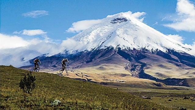 ecuador quito biking cotopaxi travel
