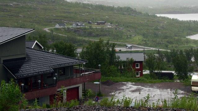 Riksgränsen in the warmer months.