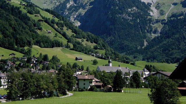 Valley of Engelberg.