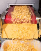 freeze dry mac and cheese artisanal freeze-dried food freezer ice cold cheese hunger camping MRE