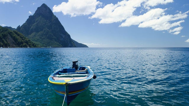 St. lucia caribbean sailing islands vacation outside travel awards