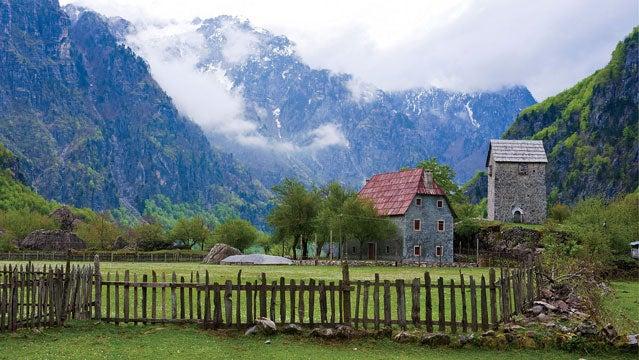 Albanian Alps albania europe outside travel awards thethti