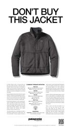 The full Patagonia ad