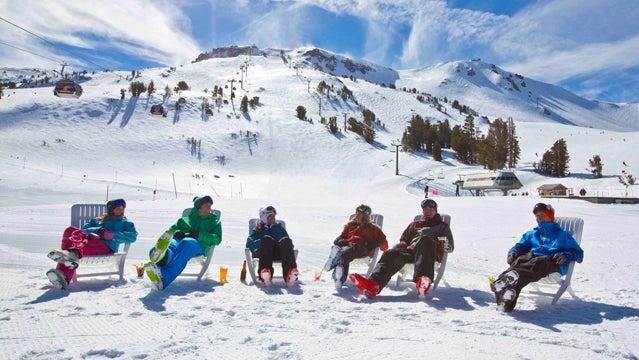 mammoth mountain skiing vacation california