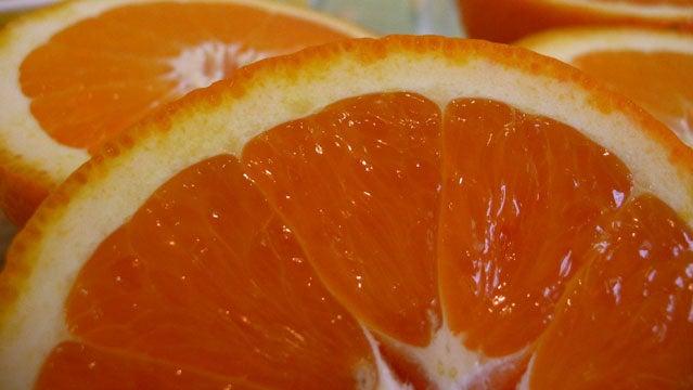 Add orange for flavor.