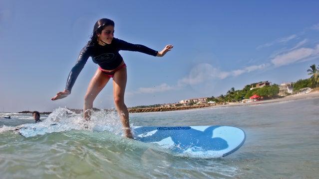 sayulita; mexico; beach; waves; surfing;