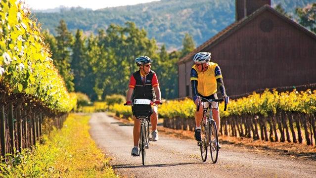 Ride Sonoma Anderson Napa Valley wine country california