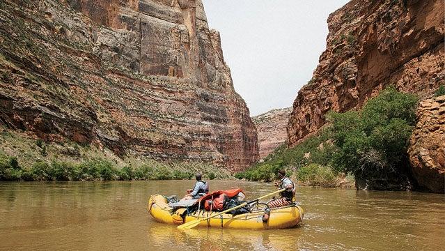 colorado rafting river trip utah yampa canyon