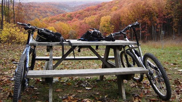 Brown County Breakdown mountain bike festival