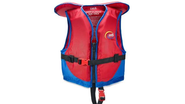 MTI Children's PFD lifejacket for kids whitewater gear