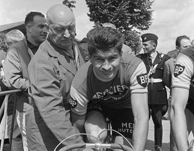French hero Raymond Poulidor.