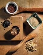 Five supercharged whole grains