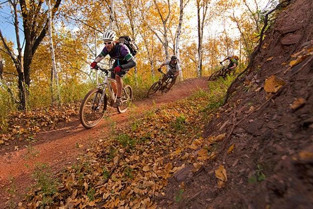"Mountain biking ""Ferrous Wheel"""