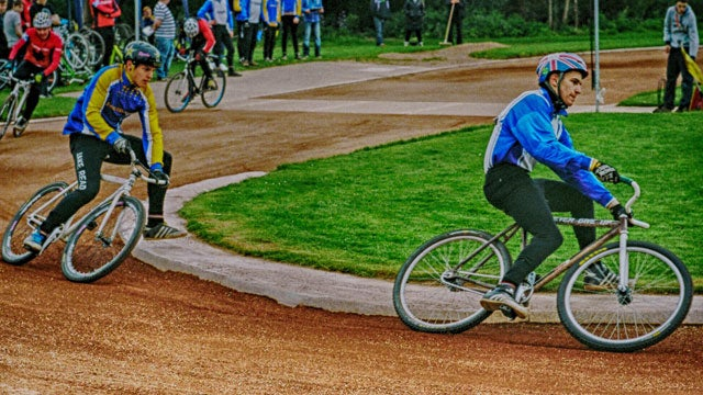 Cycle speedway racing