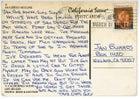 Postcard to Jan Burres