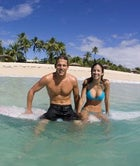 Andy Irons and Lyndie Irons