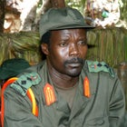 Joseph Kony, leader of the Lord's Resistance Army, 2006.