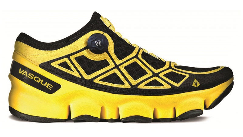 The Vasque Ultra SST is made from brand new trail runner technology.