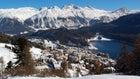 St. Moritz resort in the Swiss Alps.