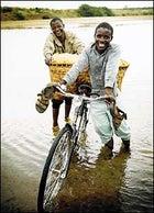 Amphibious cyclists