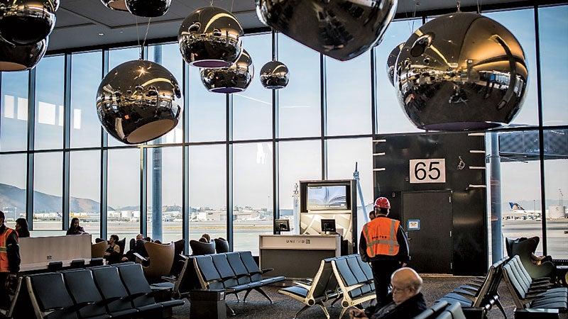 San Francisco International Airport's Terminal 3.