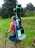 OutsideOnline Google Trekker Hiking Street View