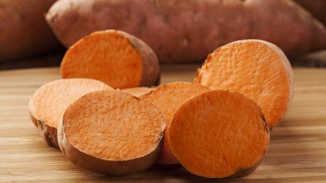 sweet potatoes ultramarathon running training tips nutrition