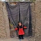 Outside magazine May 2014 girl Kabul IDP camp dwelling young