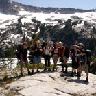 Camp Unalayee in the Trinity Alps.