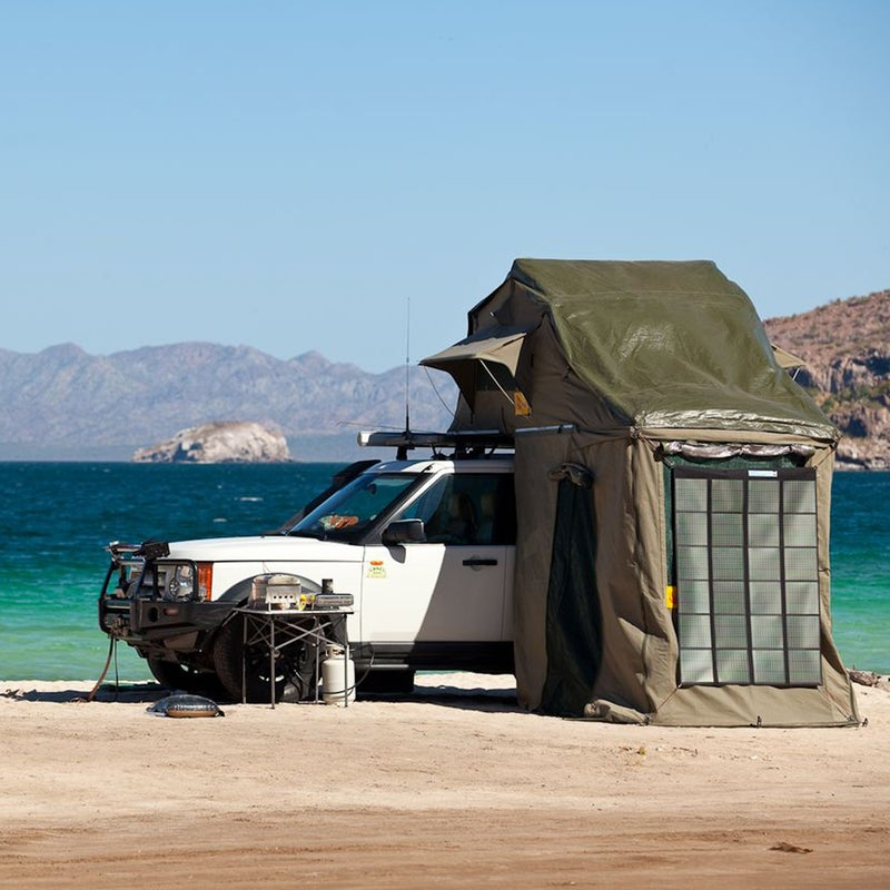 For Eezi-Awn's customers—a group that consists of safari guides, around-the-world travelers, and four-wheel-drive aficionados—the only comfortable bed they'll retire to after a week of adventure is the one mounted to the roof of their vehicles. Read more.