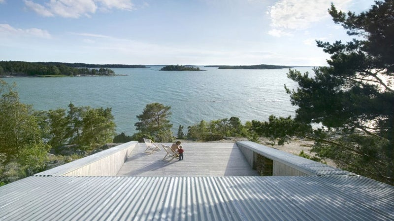 diy shelter architecture outdoors outside outside magazine outside online huttunen lipasti pakkanen finland deck cabin