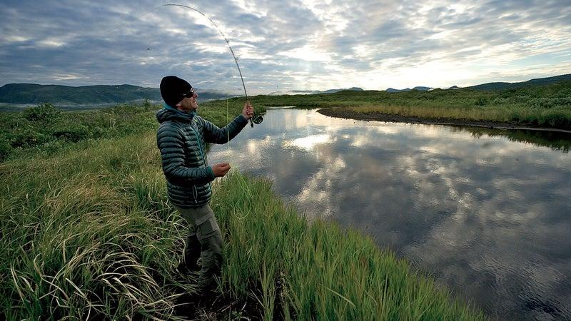 Trying to catch dinner. alaska, outside magazine, solomon