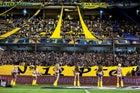 Boca Juniors cheerleaders in La