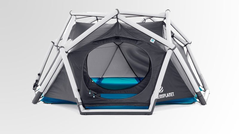 inflatable the cave tent inflatable geodesic outside magazine outside online