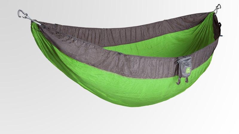 Kammok Roo ripstop nylon mesh layer insulated liner outside magazine outside online gear test covet hammocks summer hammocks four season hammock Dragonfly bug net