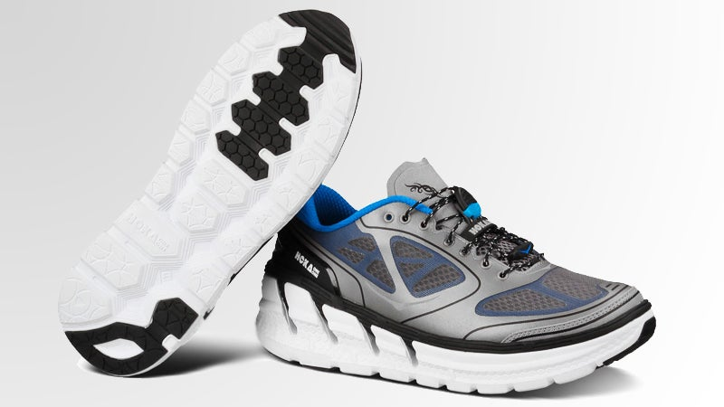 HOKA ONE ONE Conquest maximalist cushion road running outside outside magazine outside online Rmat® midsole race-lace system