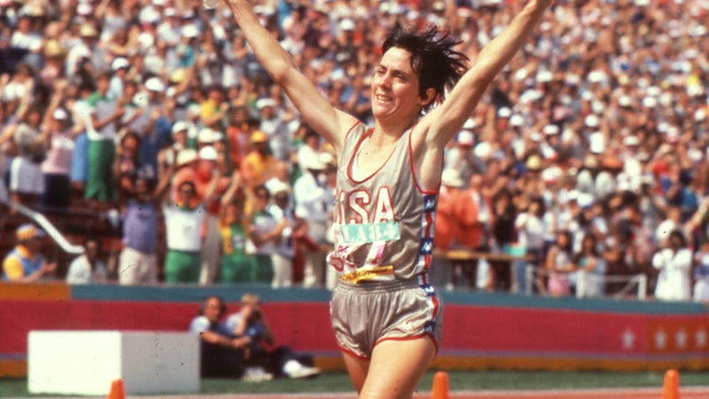 In the summer of 1984, Joan Benoit Samuelson made history when she won the first women's marathon at the 1984 Games in L.A. and helped ignite a running movement.