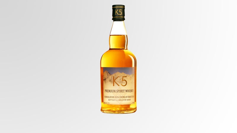 Bhutan's Army Welfare Project K5 Himalayan Whiskey AC Shilton alcohol whiskey Eat & Drink The Current hard alcohol Himalayas G.D.H GDH Gross Domestic Happiness Bhutan Bhutan Ventures outside online outside magazine