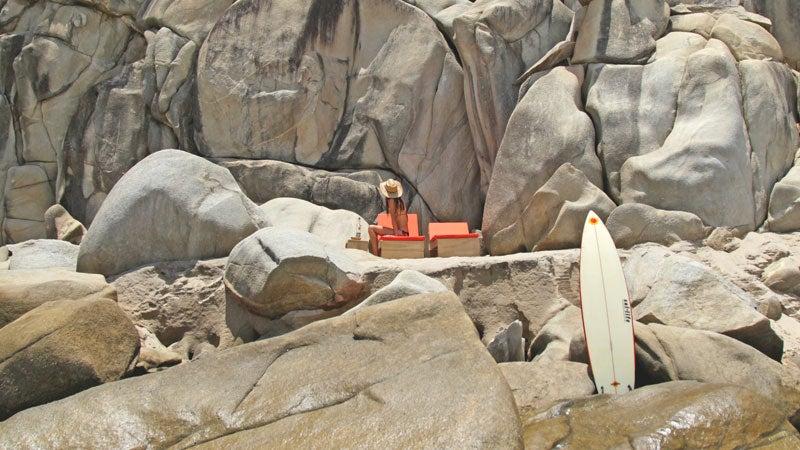 Oaxaca; Mexico; Hotel Escondido; Puerto Escondido; Pacific Ocean; mezcal; mole; Grupo Habita; El Adoquin; Mexican Pipeline; surf town; refuge; beach; base camp; escapes; outside magazine; outside online; chris clayton; Zicatela Beach; beach bungalow; surfboard