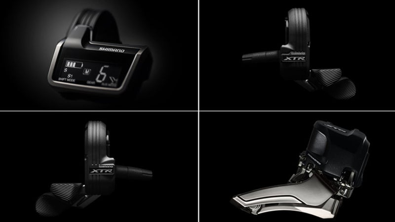 Shimano's mountain bike premier features a system that can determine the best gear shifts for you.