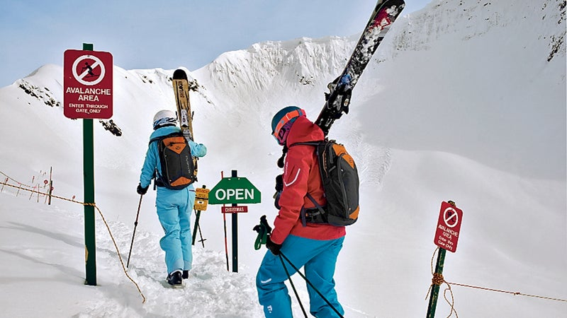 avalanche outside safety survival skiing