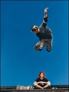 Shaun White and Tony Hawk