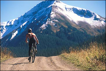 Grinding through Colorado's Schofield Pass