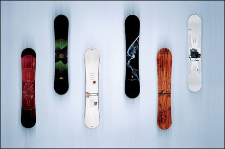snowboards reviewed